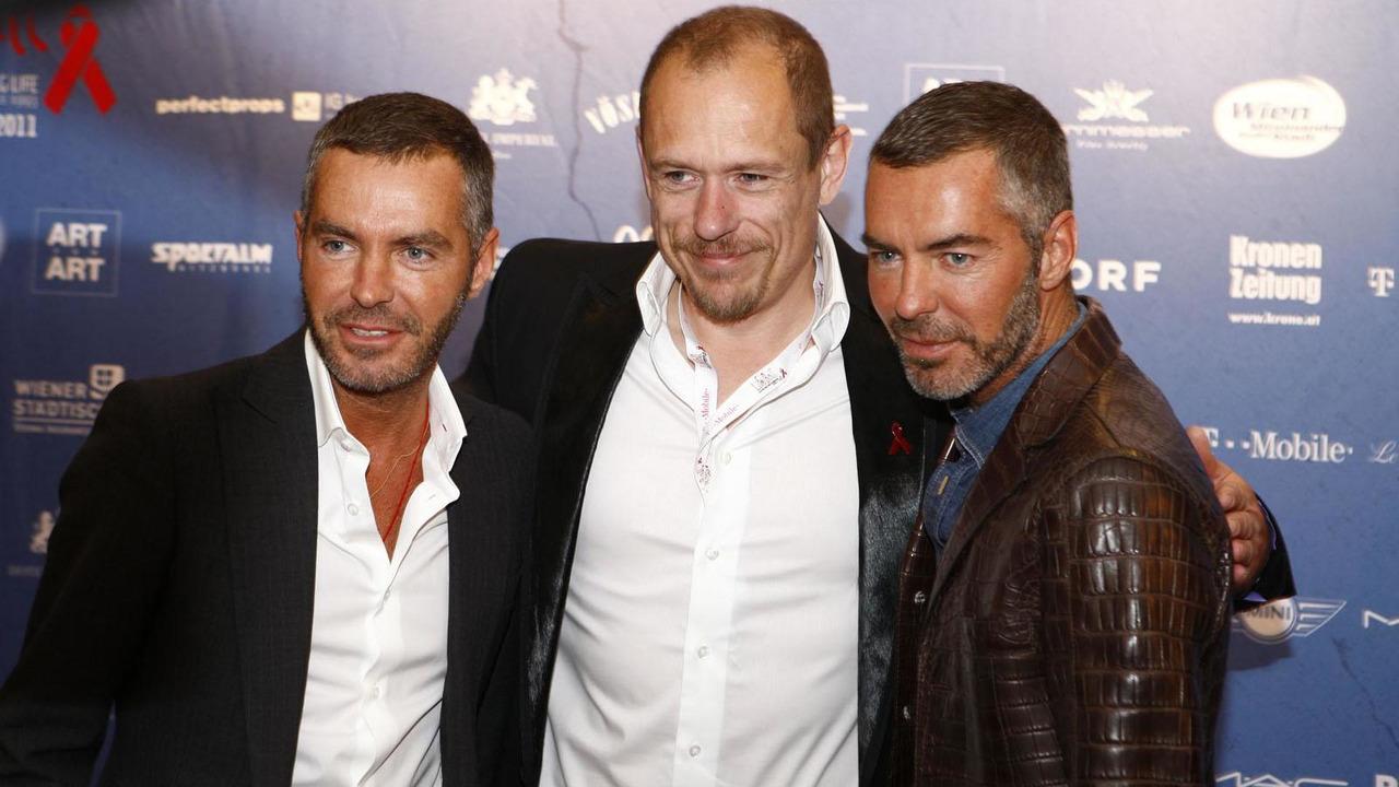 Dean Caten, Gery Keszler and Dan Caten - 3.5.2011