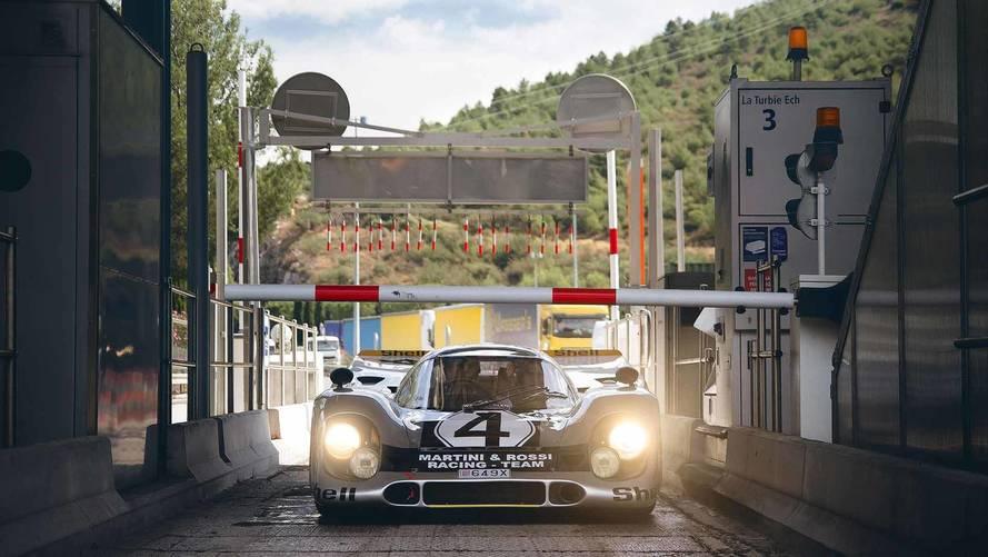 Porsche 917, a Monaco ce n'è una con targa e frecce
