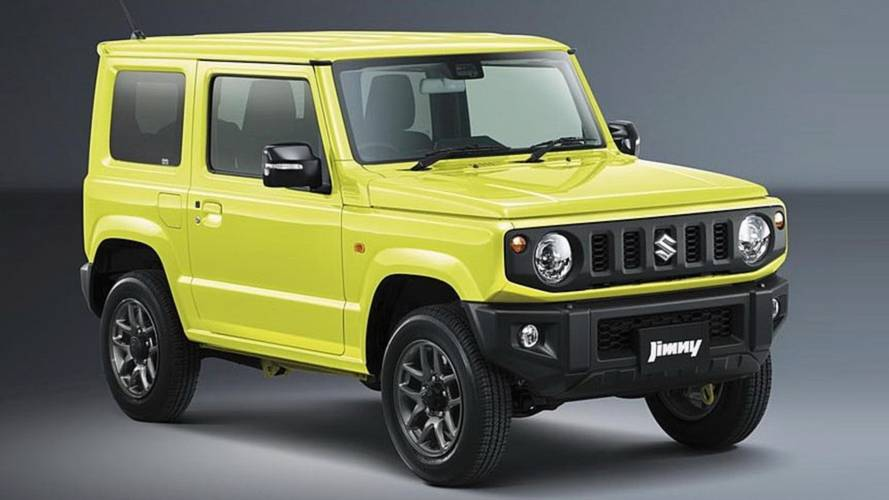 2019 Suzuki Jimny Official Photos Reveal Cute And Boxy Off-Roader
