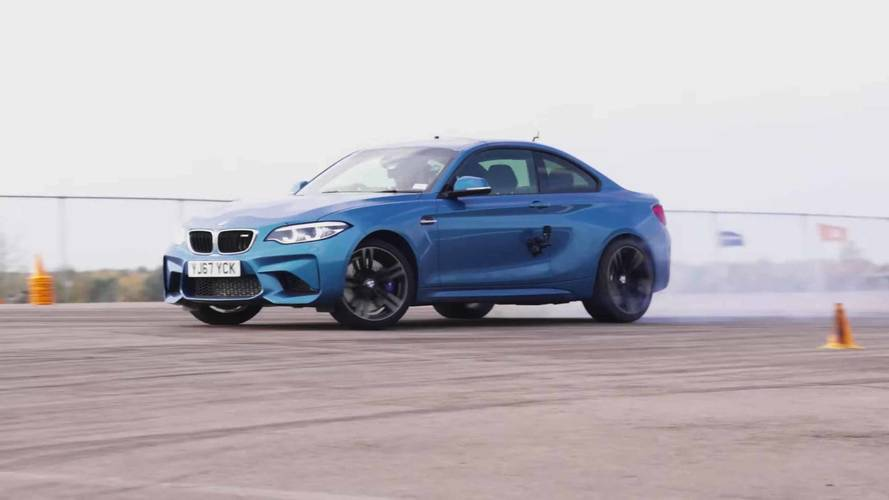 Drift Test Outcome: M2 More Boring Than A Toyota 86, Lexus GS F