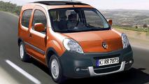 3-Door Renault Kangoo Artists Rendering