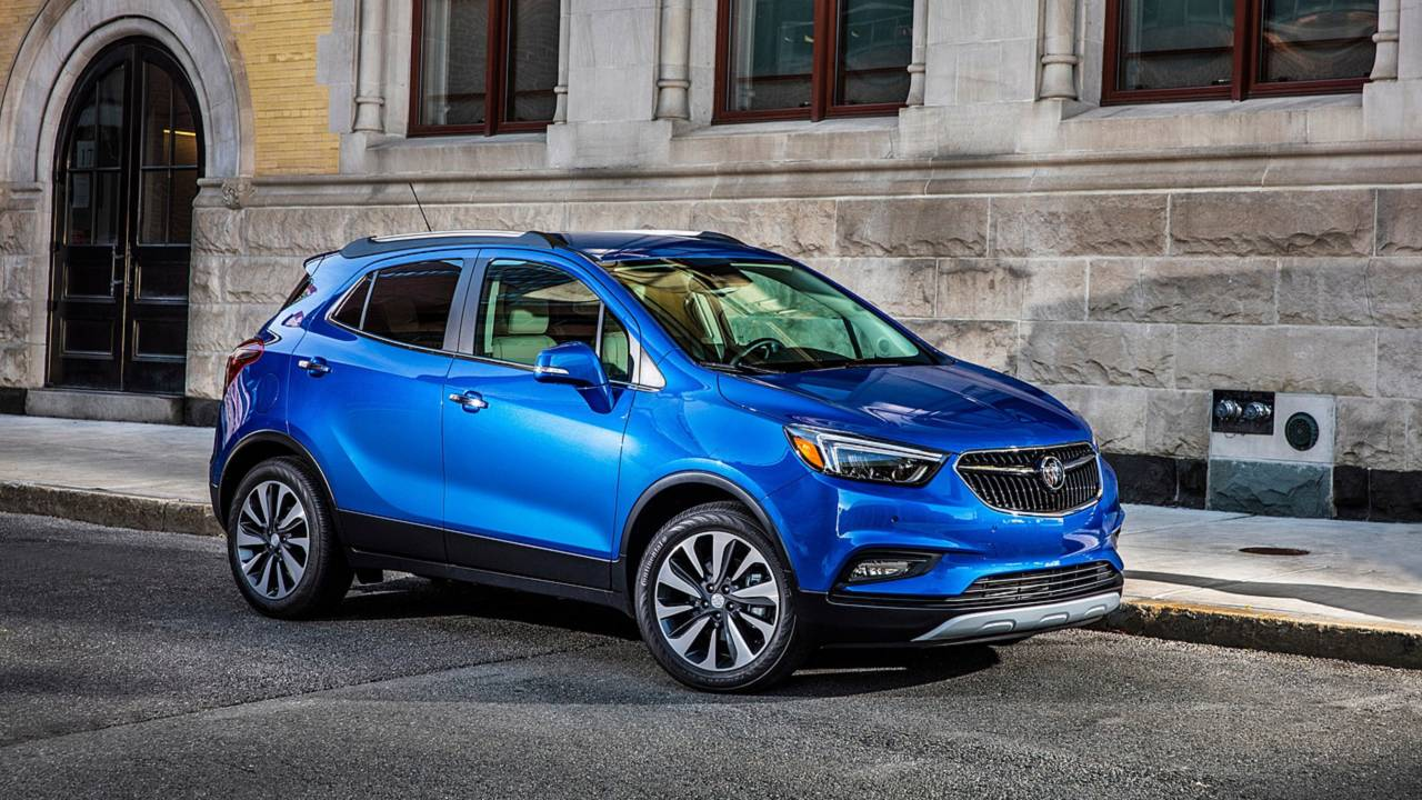 4. Compact Luxury SUV/Crossover: Buick Encore