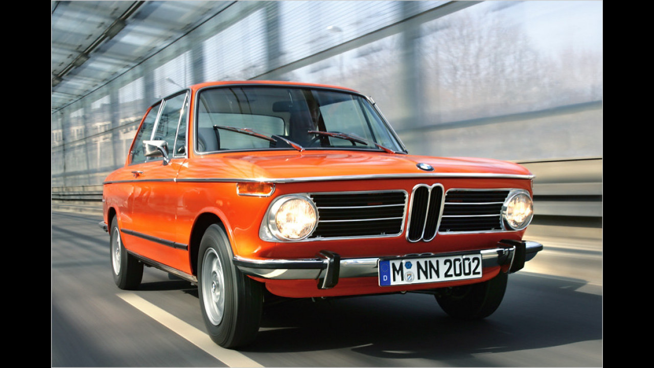 Platz 13: BMW 02er-Reihe
