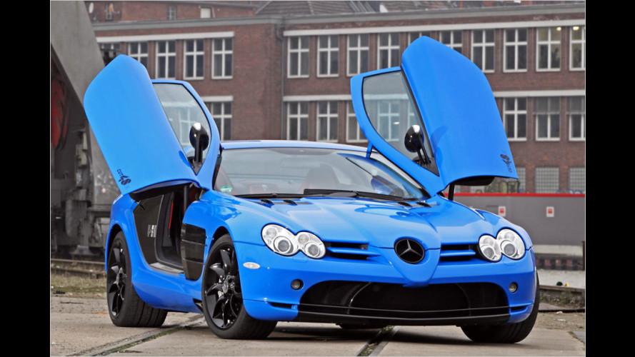 722 PS in baby-blauem Gewand