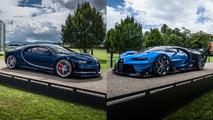Bugatti Chiron ve Vision Gran Turismo
