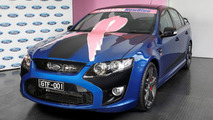 First & last FPV GT F going up for auction in Australia