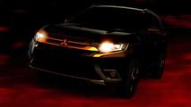 2016 Mitsubishi Outlander facelift returns in more revealing teasers