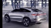 Vídeo: Mercedes Coupé SUV Concept aparece em movimento