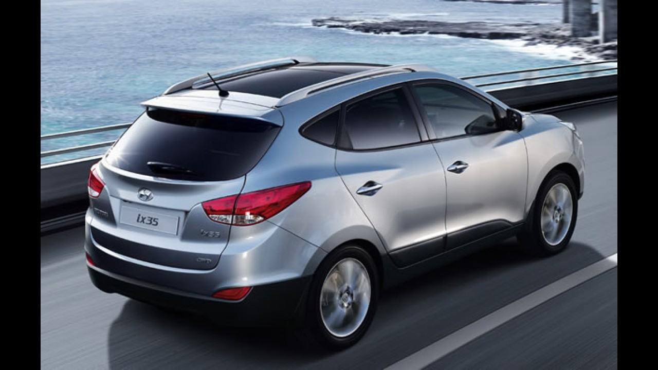 Hyundai ix35 com motor 2.0 Flex já é vendido no Brasil