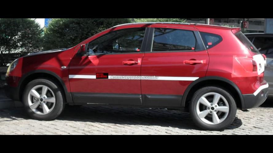 Nissan Qashqai é flagrado novamente no Brasil