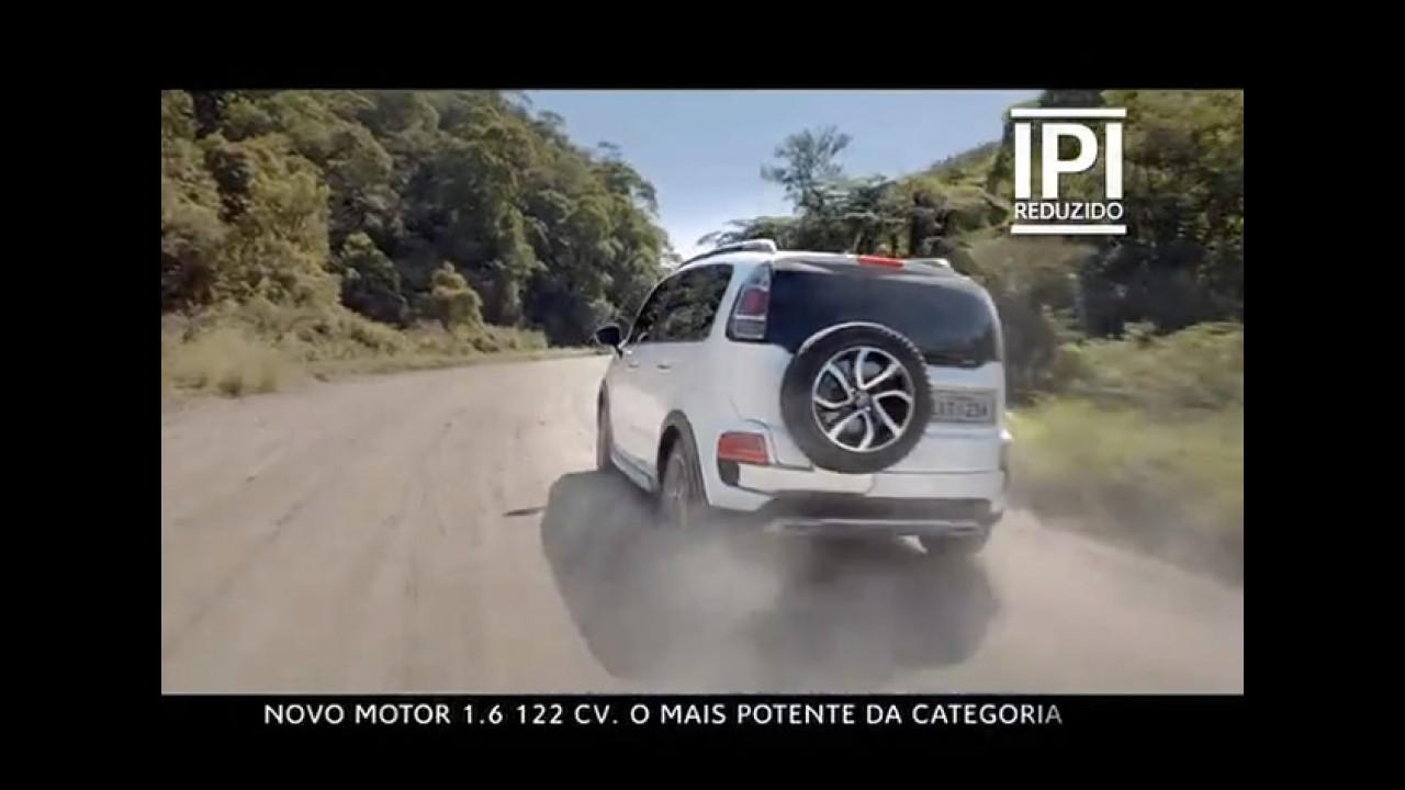 Citroën AirCross 2013 ganha motor 1.6 16V FlexStart com 122 cv