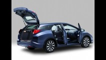 Galeria de fotos: Honda revela a Civic Tourer, a versão perua do Civic