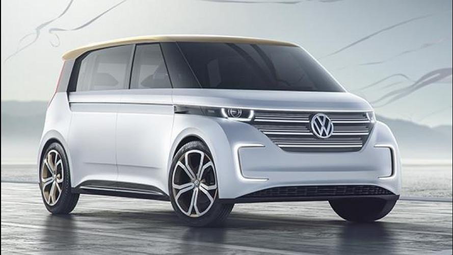 Budd-e concept, il futuro di Volkswagen è in un van