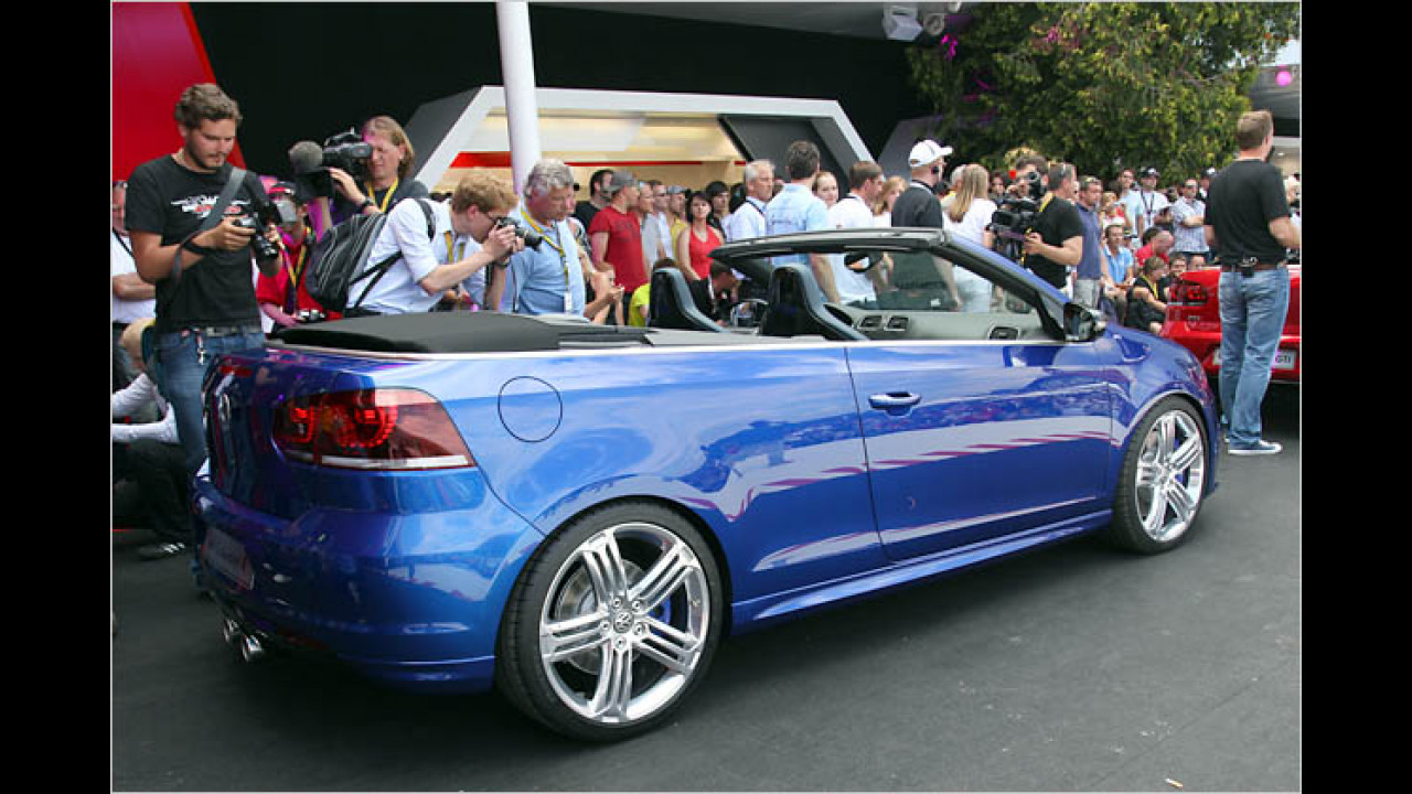 VW Golf Cabriolet R Concept