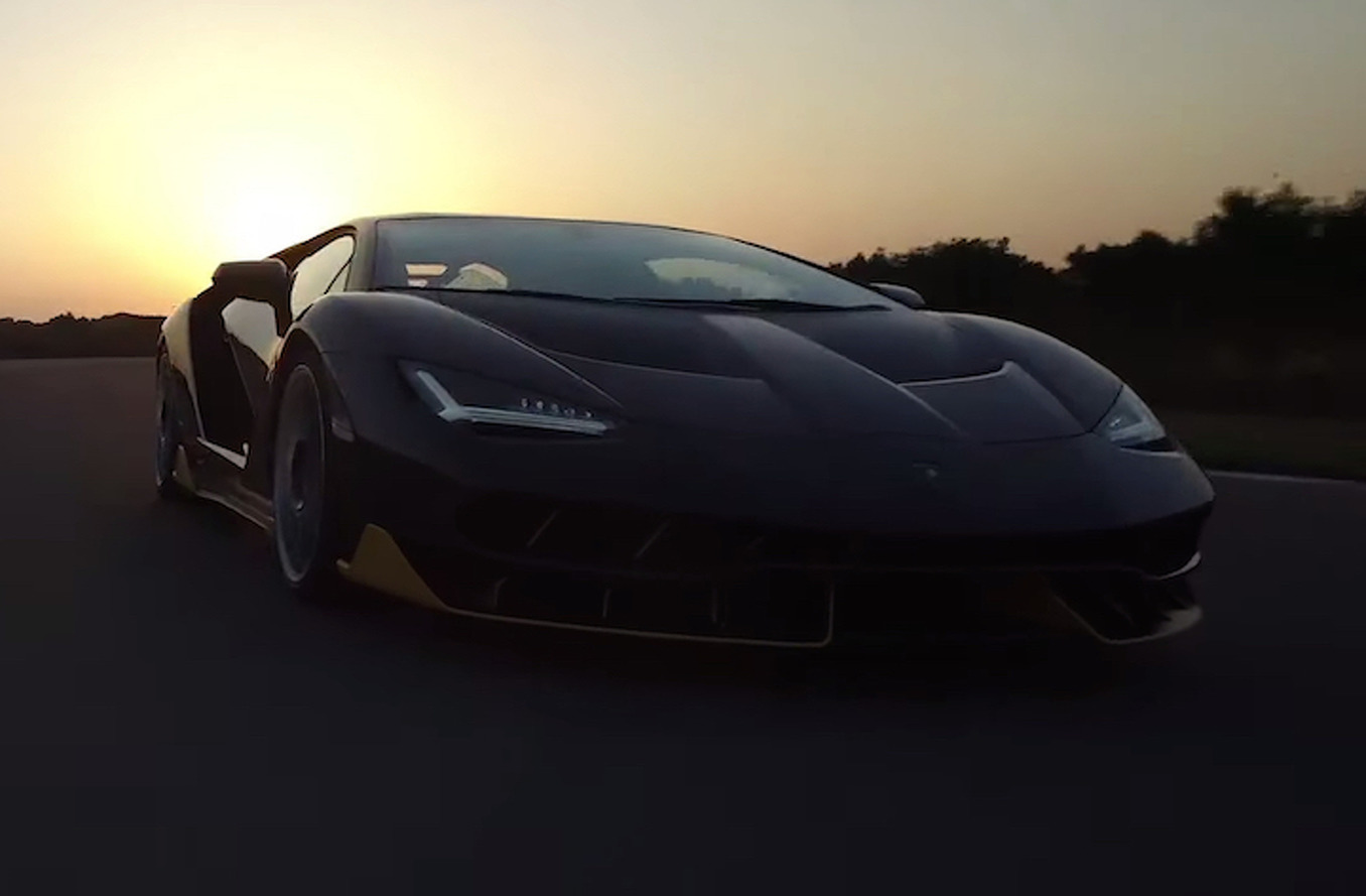Lamborghini Centenario Goes Hard at the Nardo Ring