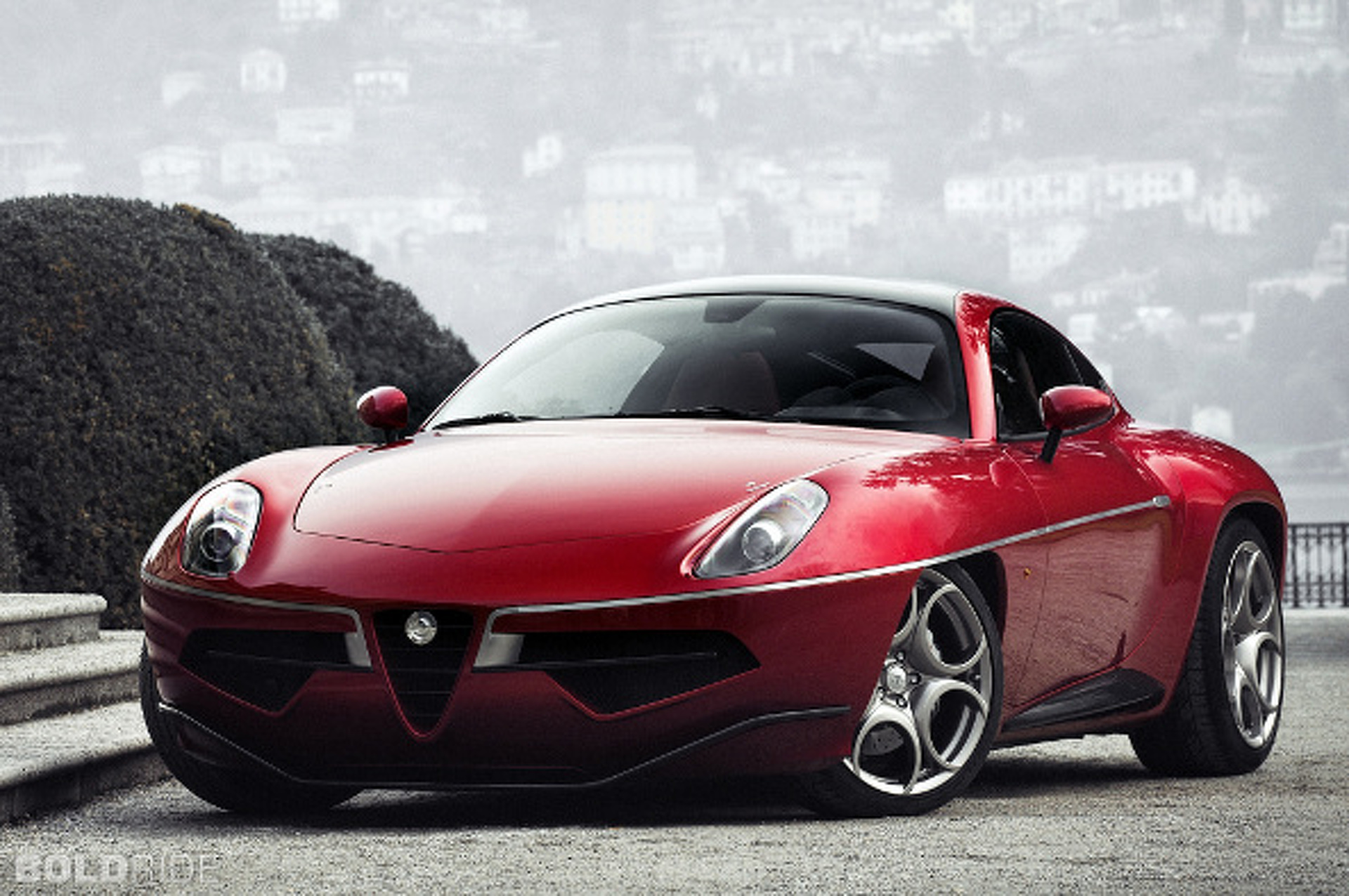 Disco Volante Concept is a Throwback with Modern DNA