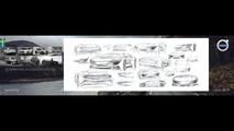 Volvo eléctrico shooting brake render