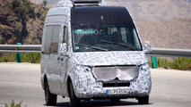 2018 Mercedes-Benz Sprinter Spy Photos
