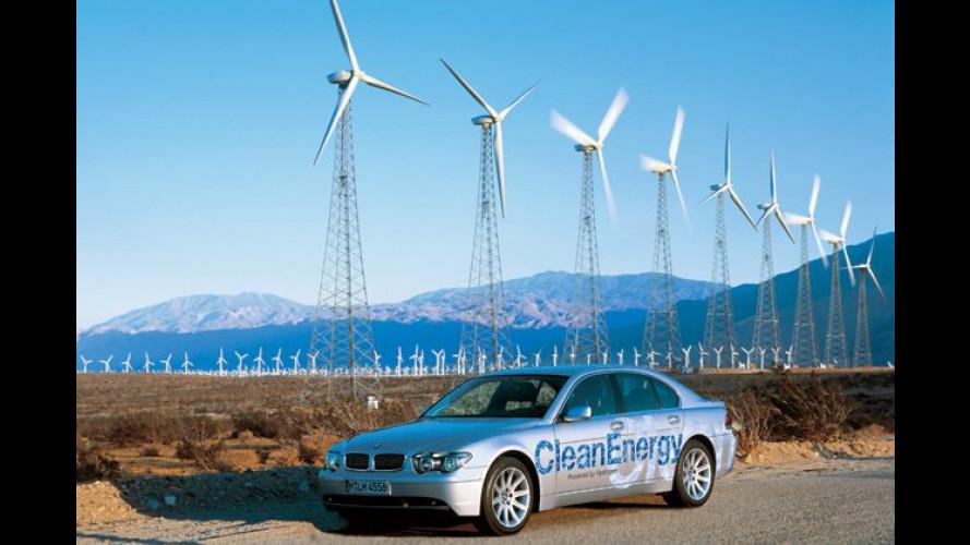 Wasserstoff: Saubere Energie für den BMW der Zukunft