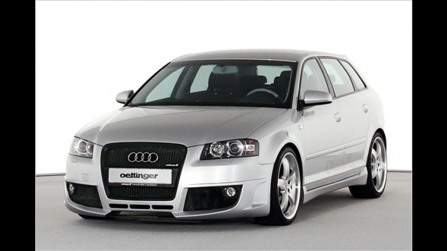 Tuner Oettinger: Audi A3 Sportback richtig heiß gemacht