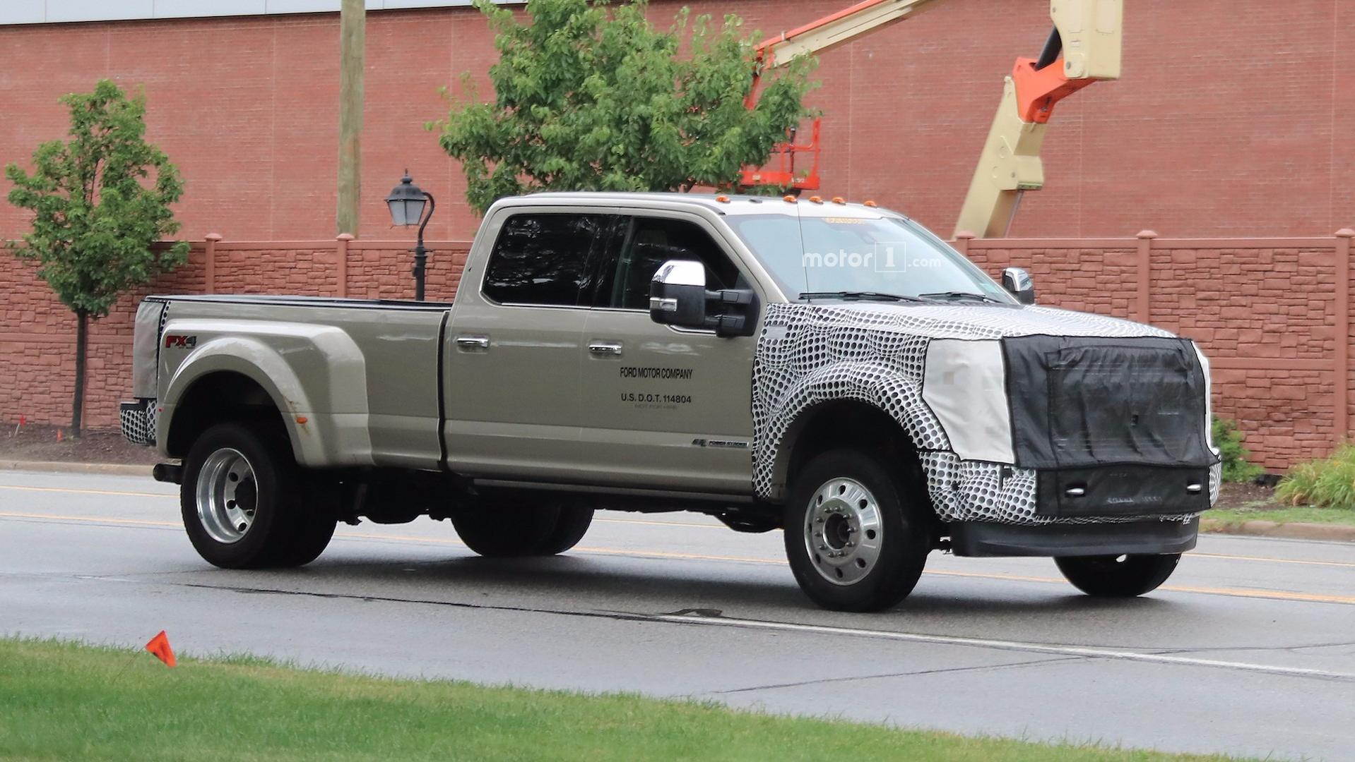 F250 2019 >> 2019 Ford F-Series Super Duty Spied With Modest Facelift