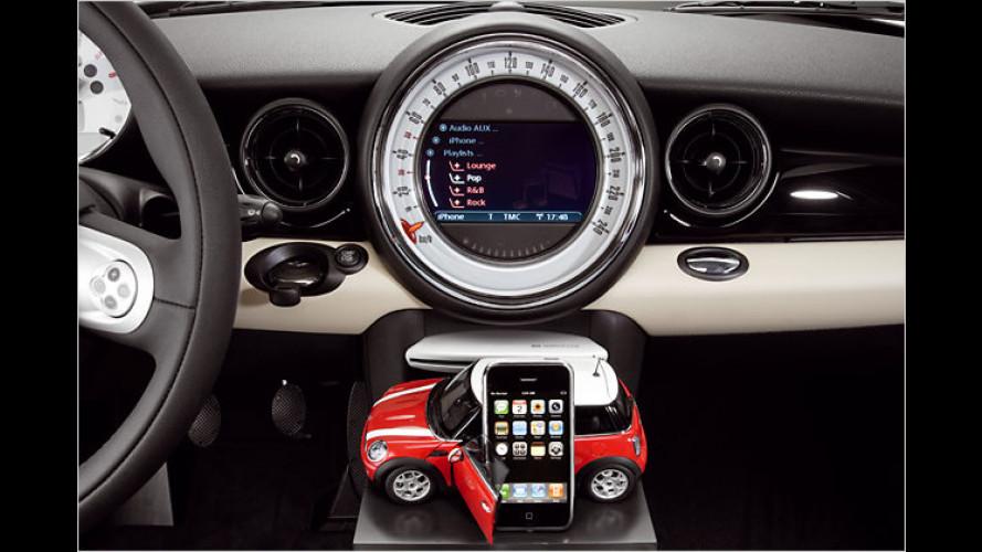 Multimedialösung: BMW und Mini integrieren neues iPhone