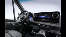Mercedes Sprinter: Feines Cockpit