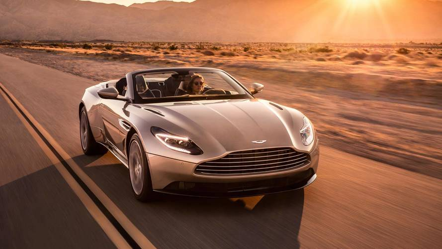 Aston Martin DB11 Volante Arrives In Time For Open-Air Cruising