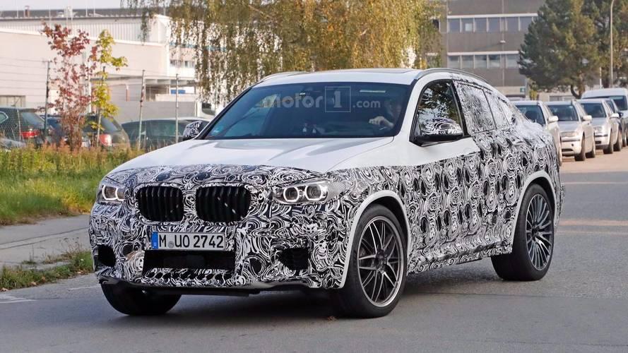 BMW X4 M, Almanya'da test edilirken yakalandı