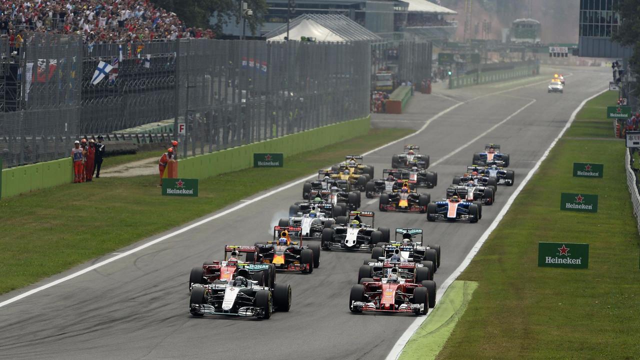 Horarios GP Italia F1 2017