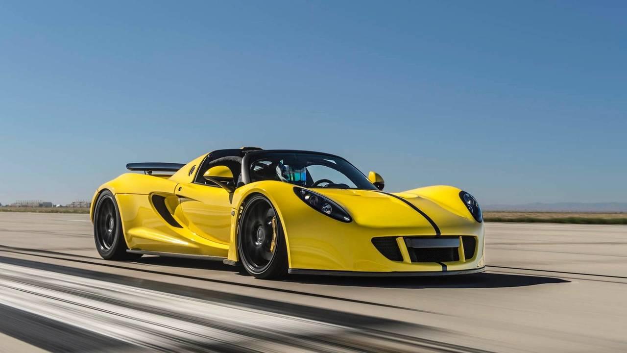 2. Hennessey Venom GT Spyder – 428 km/h