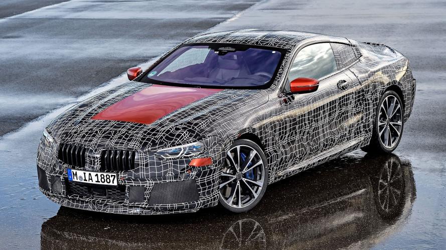 BMW Serie 8 Coupé, gli ultimi test ad Aprilia