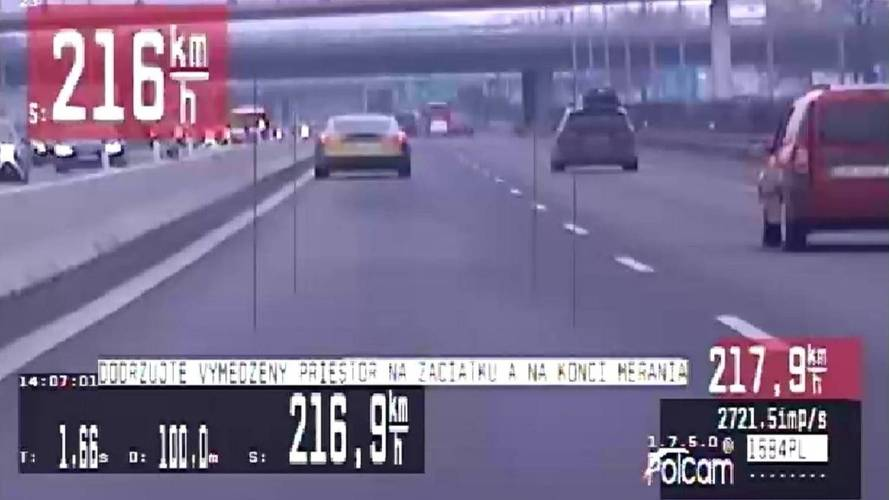 Már egy gyorshajtási rekord is fűződik a Tesla Model S nevéhez