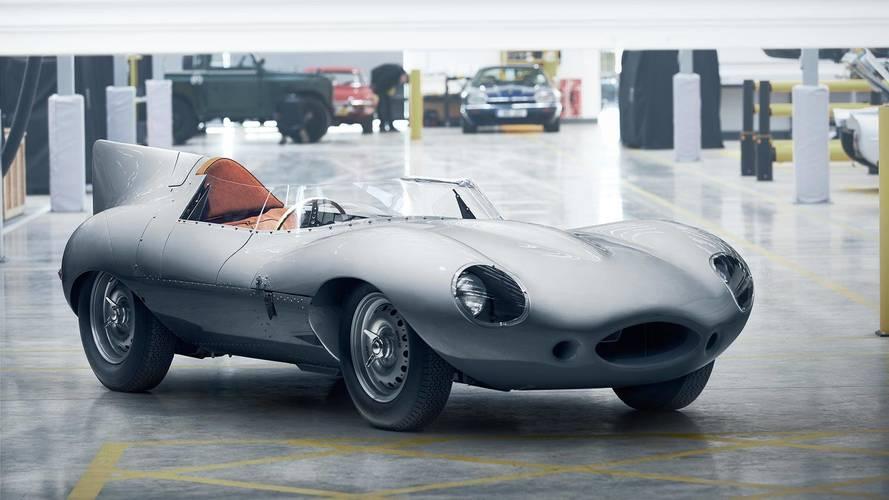 A Jaguar feltámasztja a legendás D-Type versenyautót