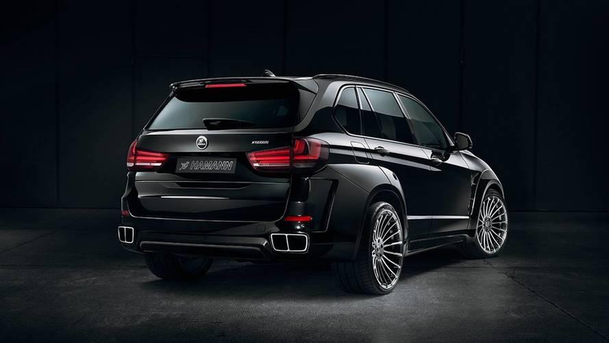 Le BMW X5 fortement bodybuildé par Hamann
