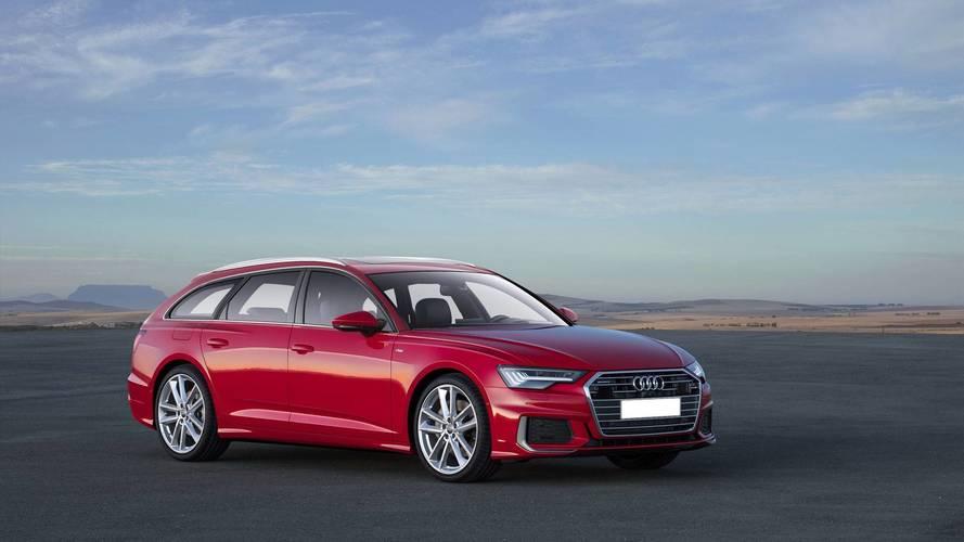 Audi A6 renderings