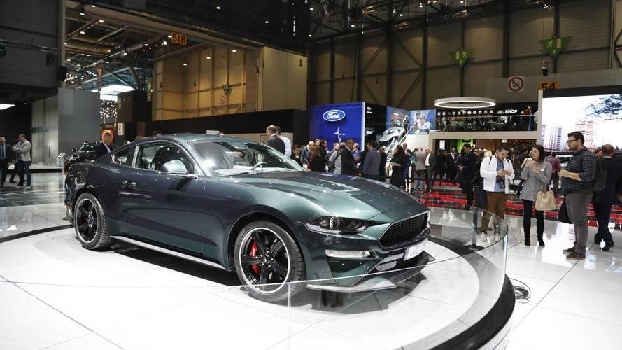 Ford Mustang Bullitt Euro Spec at the 2018 Geneva Motor Show