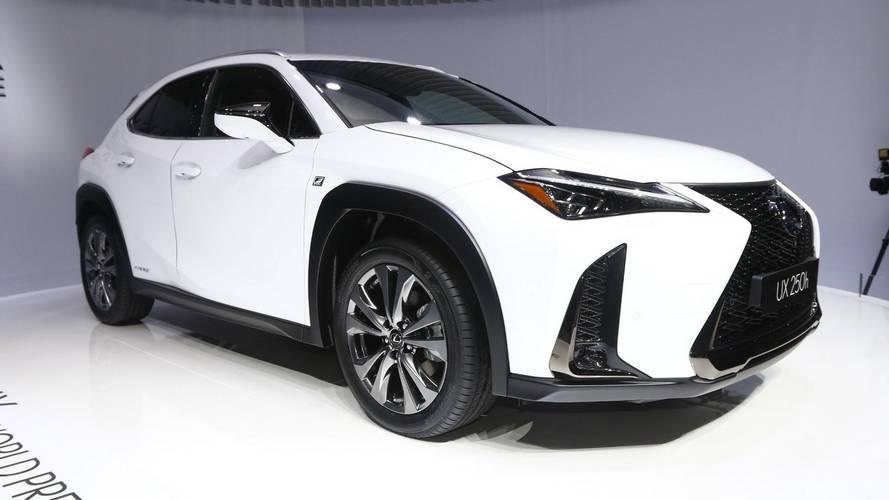 Lexus UX - 2018 Cenevre Otomobil Fuarı