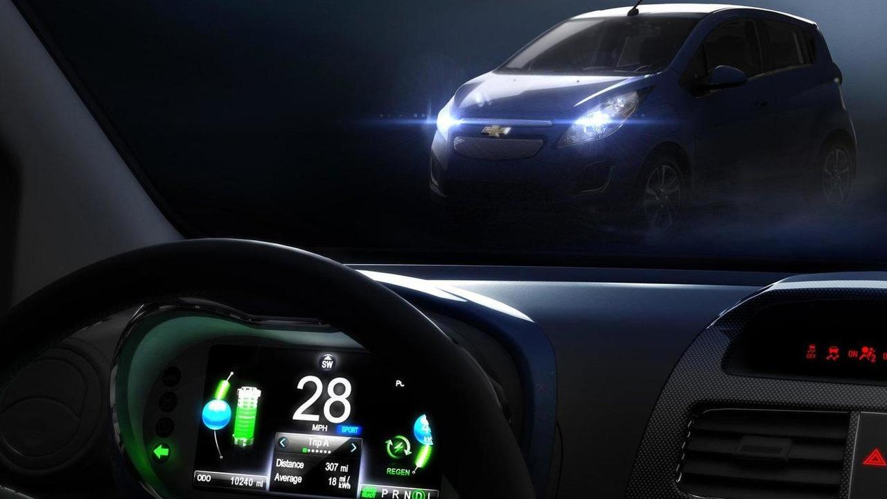 Chevrolet Spark EV teaser photo 12.10.2011