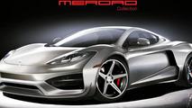 Merdad previews the McLaren MP4-12C Mehron GT