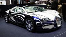 Bugatti Veyron Grand Sport L'Or Blanc live in Frankfurt - 16.9.2011
