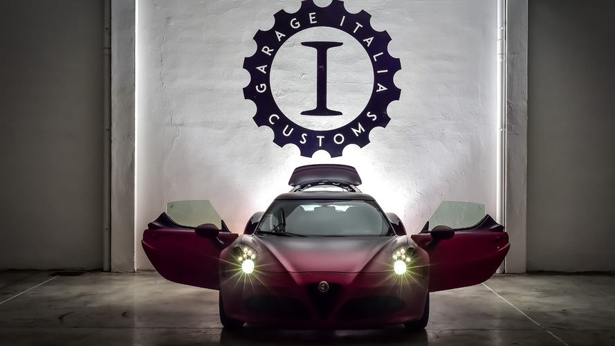 Alfa Romeo 4C La Furiosa unveiled by Garage Italia Customs