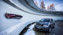 Nissan unveils the world's first seven-seat bobsled [video]