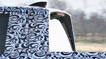 2017 Honda Ridgeline spied with swirly camo hiding conventional C-pillar