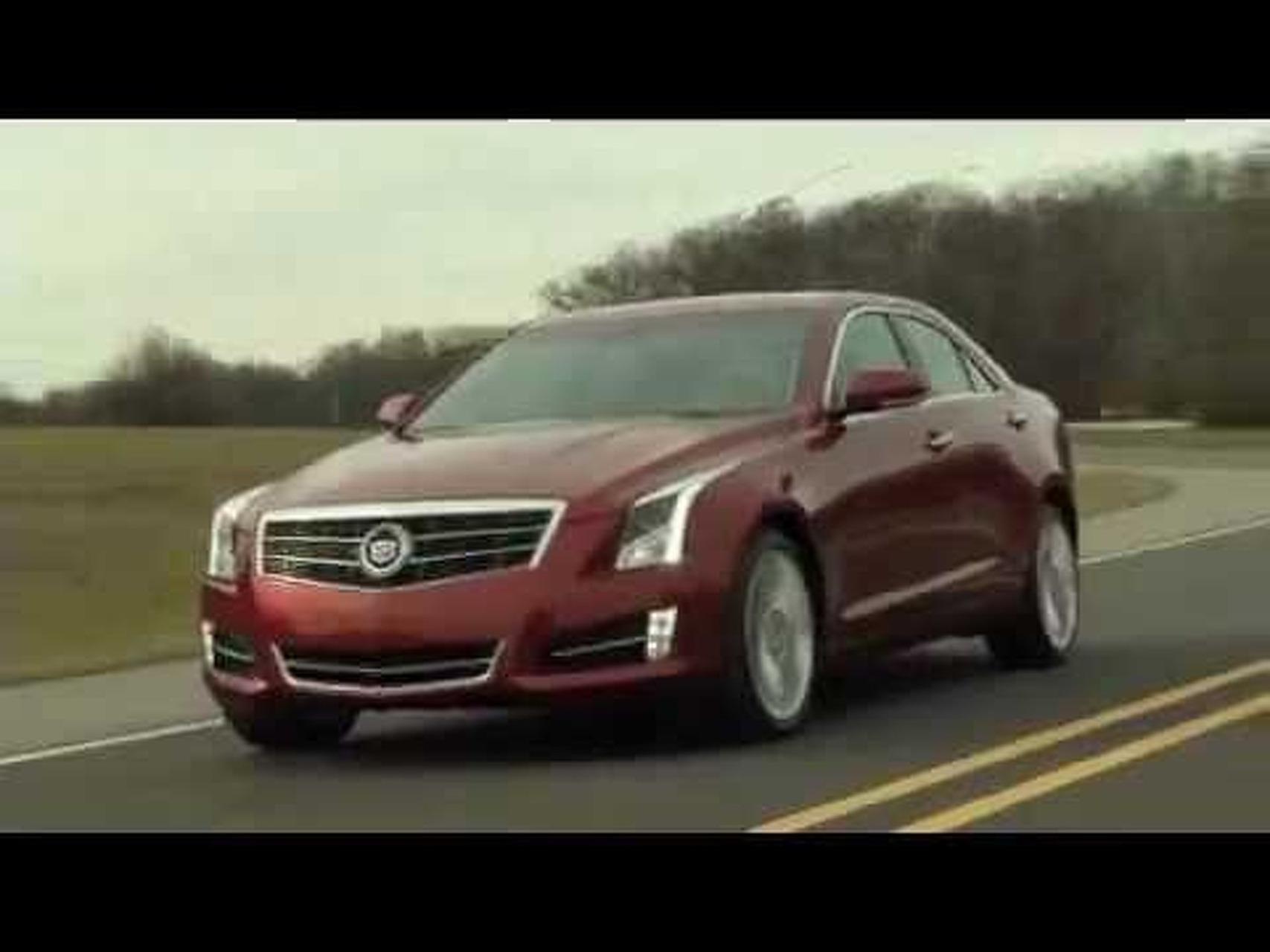 2013 Cadillac ATS Running Footage