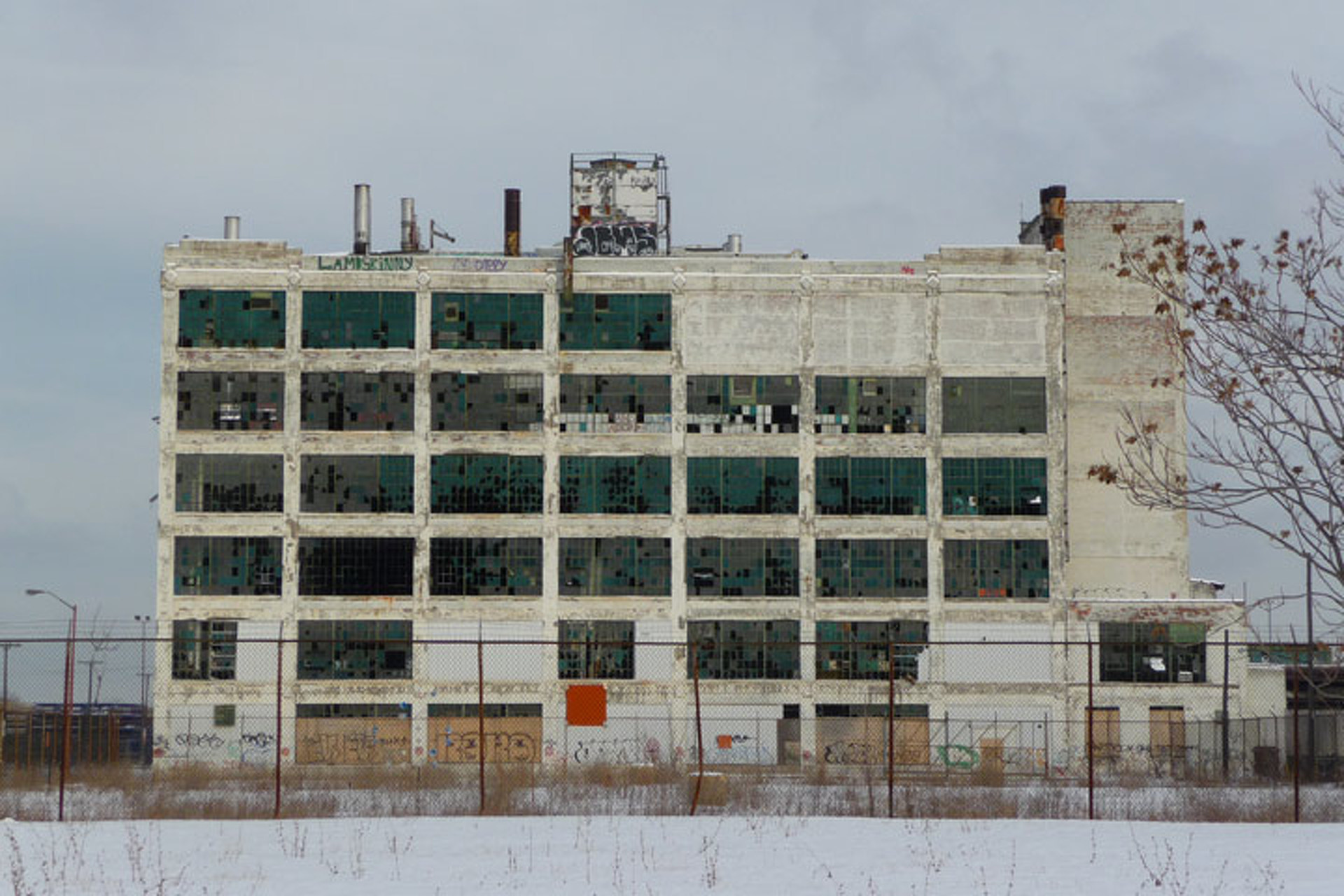 Detroit Car Plant Could Become Techno Nightclub