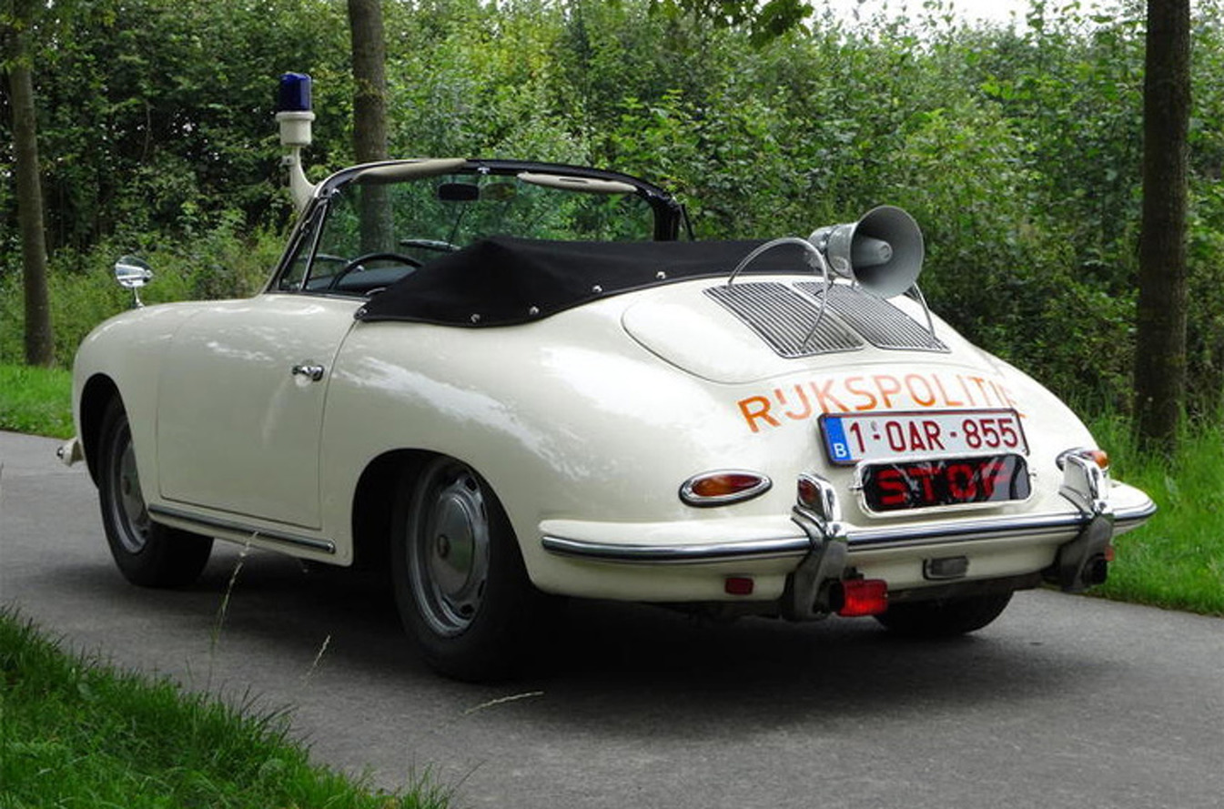 Rare Dutch Porsche 356 Police Car Comes Up For Auction
