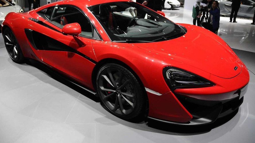 McLaren 540C premieres at Auto Shanghai as company's entry-level model