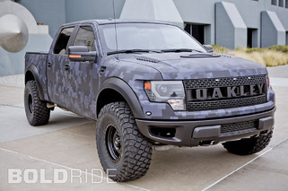 Bubba Watson's (Literally) Bulletproof Custom F-150 Raptor