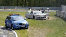 Accident de la nouvelle Chevrolet Camaro Z/28 crashes au Nürburgring